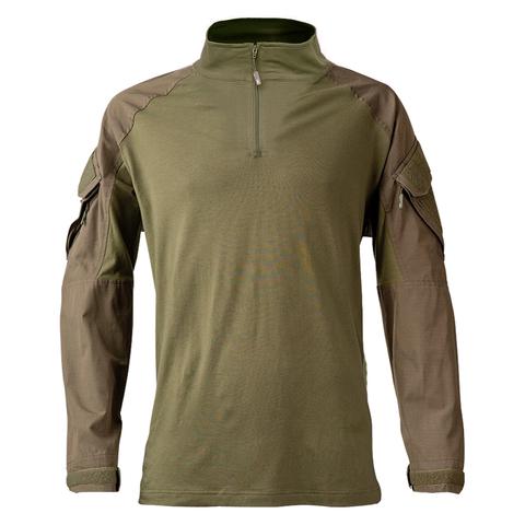 Толстовка KRYPTEK Tactical  молния длинные рукава Ranger Green