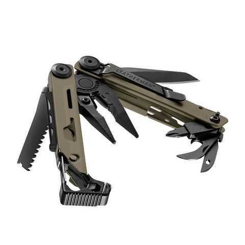 Мультитул Leatherman Signal Coyote, 19 функций, нейлоновый чехол (832404) | Multitool-Leatherman.Ru
