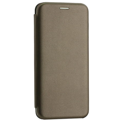 Чехол-книжка кожаный Innovation Case для Samsung Galaxy A30 Графитовый