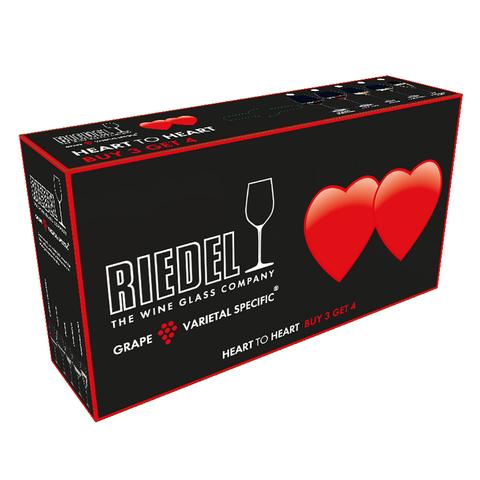 Набор из 4-х бокалов для шампанского Champagne Glass Pay 3 Get 4 330 мл, артикул 5409/08 Серия Heart To Heart