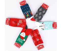 Женские носки с Новогодним принтом
