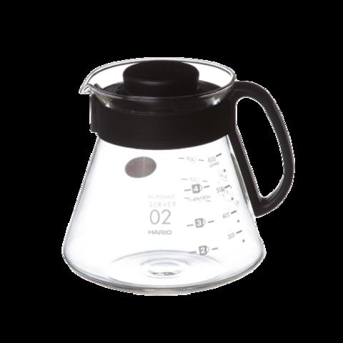 Чайник сервировочный Hario с пластиковой ручкой, 0.6 л
