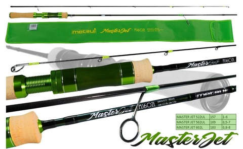 Спиннинг Metsui Master Jet 602L 0,8-8 г.