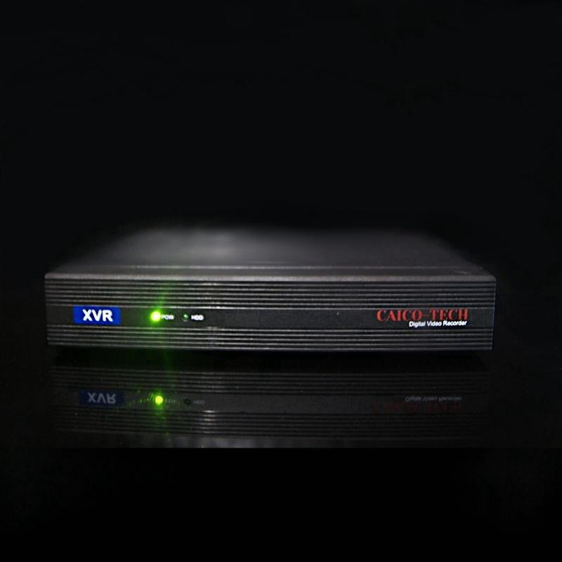 Видеорегистратор наблюдения  CAICO TECH® CCTV  SFY-5550 S гибрид AHD TVI CVI IP CVBS; 5Mpix 8 каналов видео + 4 микрофонных входа