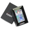 Зажигалка Zippo 250 Angel, латунь/сталь с покрытием High Polish Chrome, серебристая, 36x12x56 мм
