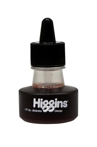 Чернила HIGGINS ORANGE Dye-Based 1 OZ, 29,6 мл