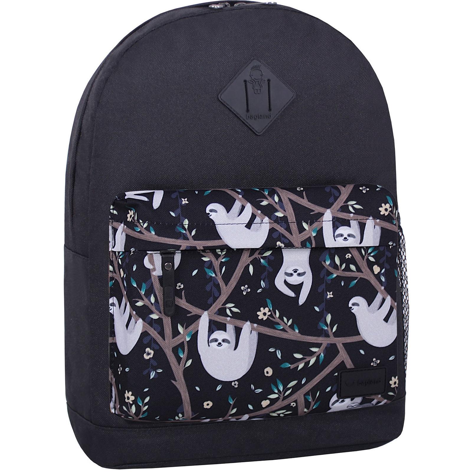 Молодежные рюкзаки Рюкзак Bagland Молодежный W/R 17 л. Черный 760 (00533662) IMG_6667_суб760_-1600.jpg