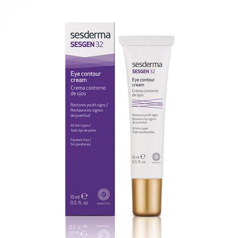 SESDERMA | Крем-контур для зоны вокруг глаз «Клеточный активатор» / SESGEN 32 Eye contour cream, (15 мл)