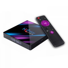 Смарт ТВ приставка H96 Max RK3318 4К ULTRA HD TV BOX 4/64 Гб Андроид 10.0