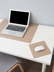 Комплект ковриков на стол, цвет бежевый