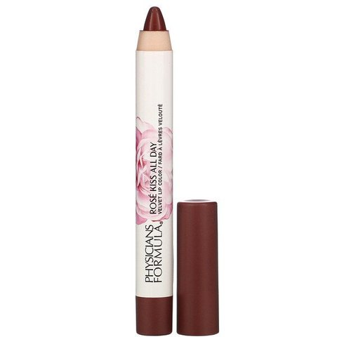 Physicians Formula, Rose Kiss All Day, Glossy Lip Color, Wine & Dine, 0.15