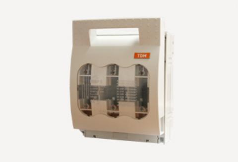 Выключатель-разъединитель с функцией защиты ПВР 3 3П 630A TDM