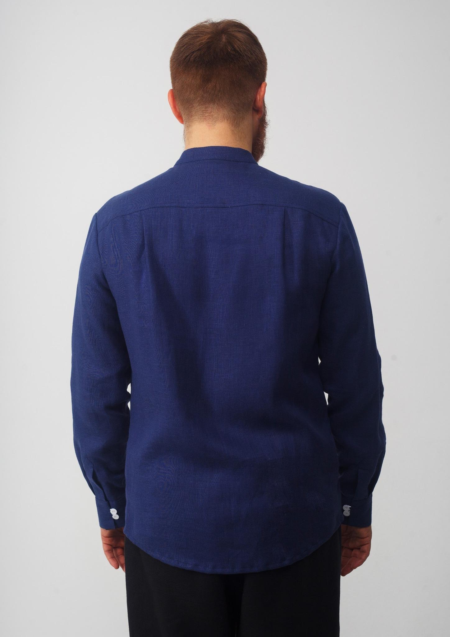 Мужская рубашка Приморская вид сзади