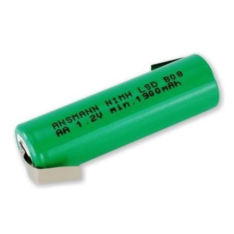 Аккумулятор АА/NiMH ANSMANN 1.2V 2100mAh с контактами