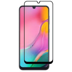 Защитное стекло Full Screen 5D для Samsung Galaxy A20, черное