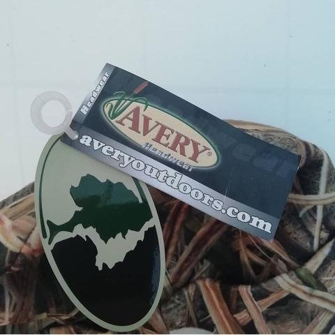 Шапка Avery двойной флис цвет Blades