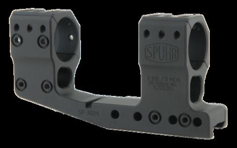 Тактический кронштейн SPUHR D30мм на Picatinny, H48мм, с выносом, без наклона (SP-3024)