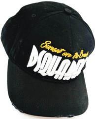 Американская кепка бейсболка с надписью Dsquared2 Supset on the Beach 65656265-Black.