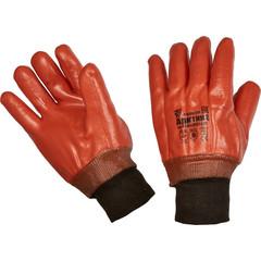 Перчатки рабочие Арктика трикотажные с ПВХ покрытием (утепленные, размер 10, XL)