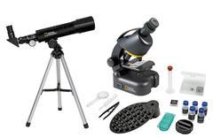 Микроскоп+телескоп с держателем для смартфона Bresser National Geographic