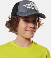 Кепка детская North Face Youth Logo Trucker Tnfmediumgr - 2