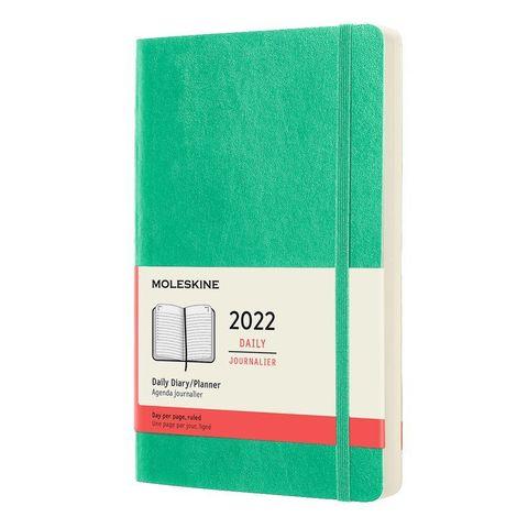 Ежедневник Moleskine (DSK4612DC3) Classic Soft Large 130х210мм 400стр. мягкая обложка мятный