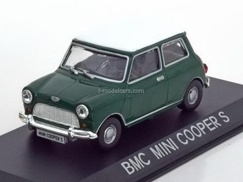 BMC Mini Cooper S green 1:43 DeAgostini Masini de legenda #64