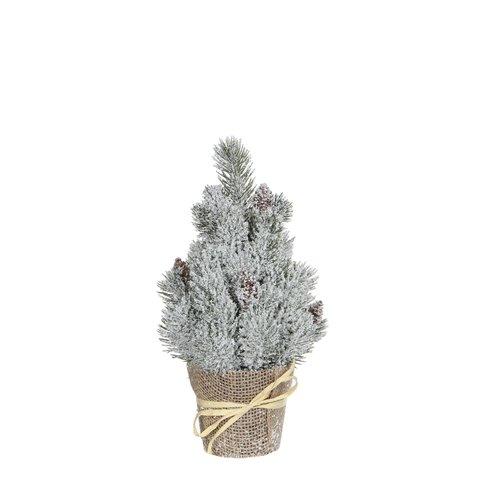 Triumph tree ёлочка в горшочке 30 см заснеженная