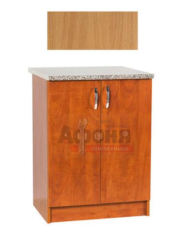 Рабочий стол  80 цвет бук ,стол. КАРАРА (ЛДСП)