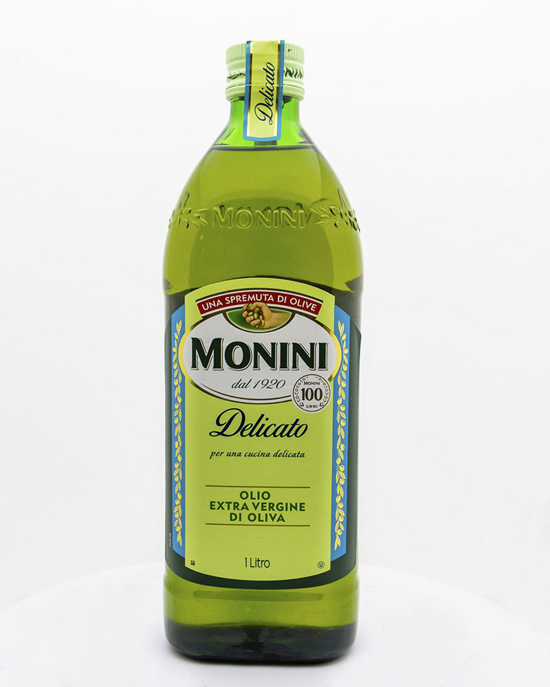 Масло оливковое Monini Экстра Вирджин Деликато 1 л.