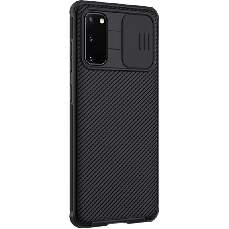 Чехол от Nillkin на Samsung Galaxy S20 с крышкой для защиты камеры, серия CamShield Pro Case