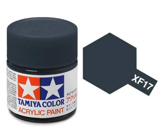 Tamiya Акрил XF-17 Краска Tamiya, Синий Морской Матовый (Sea Blue), акрил 10мл import_files_b9_b9307f045a8411e4bc9550465d8a474f_e3fbec3f5b5511e4b26b002643f9dbb0.jpg