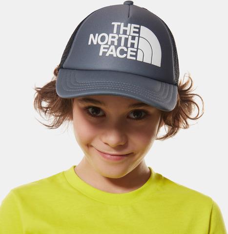 Картинка кепка The North Face Youth Logo Trucker Tnfmediumgr - 4