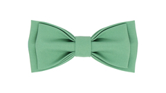 Однотонный галстук - бабочка (зеленый чай)