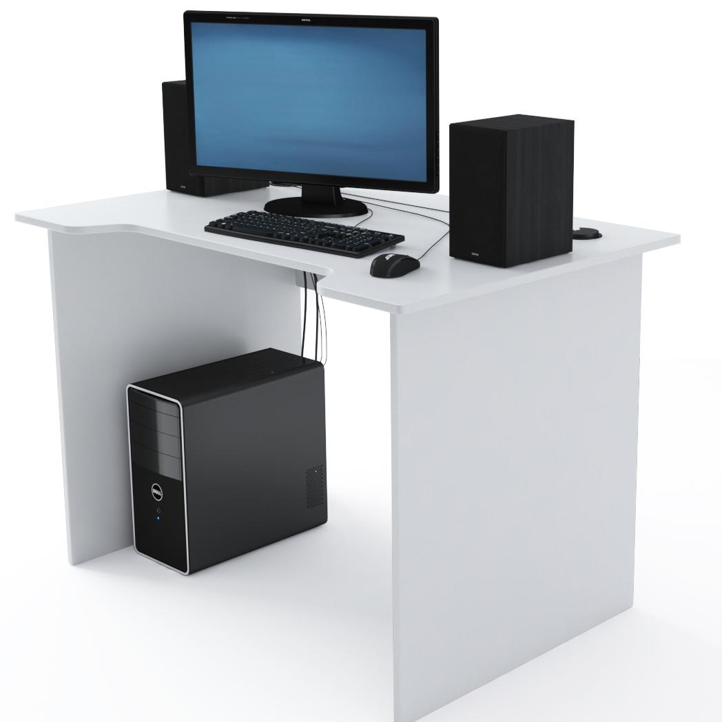 Стол Компьютерный Jedi 1100 Белый