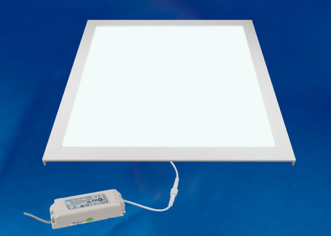 ULP-6060 40W/4000K IP54 CLIP-IN WHITE Светильник светодиодный потолочный встраиваемый. Белый свет (4000K). Корпус белый. В комплекте с и/п. Алюминий. ТМ Uniel.