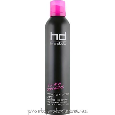Farmavita HD Smooth And Protect Spray - Сухий термозахисний спрей для випрямлення волосся