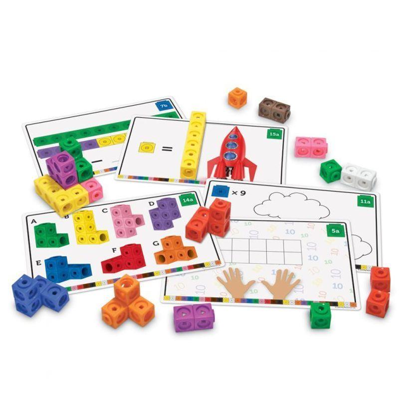 """LSP4286-UK Игровой набор """"Соединяющиеся кубики с карточками"""" (115 элементов)"""