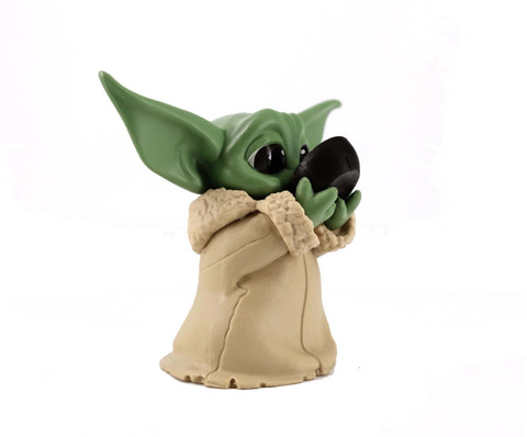 Фигурка Star Wars: The Mandalorian - Baby Yoda Sipping Soup