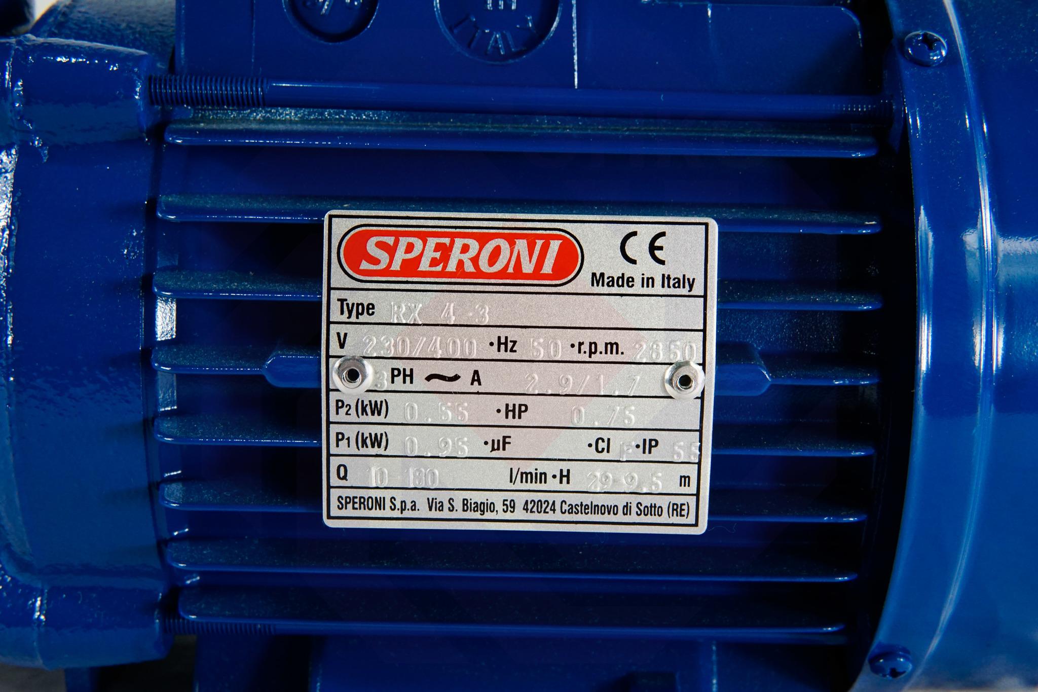 Насос повысительный SPERONI RX 4-3