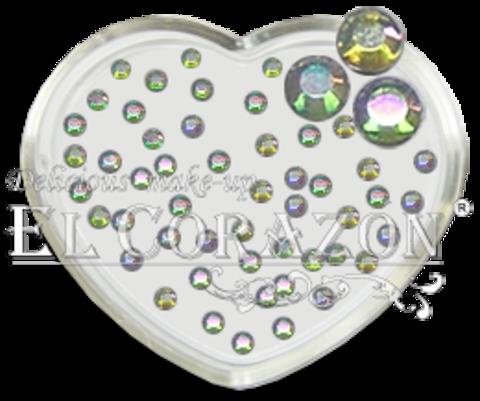 ЭК Стразы стеклянные 100шт/103  SS6-голография серебро