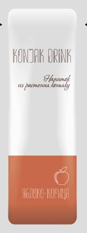 Напиток из растения коньяку со вкусом ЯБЛОКО-КОРИЦА 13,3  гр.