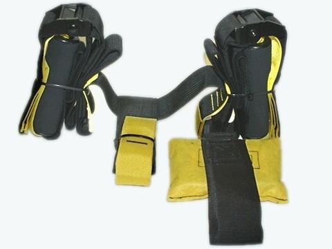 Эспандер многофункциональный. В комплекте: крепление на дверь, карабин со стропой, 2 рукоятки зафиксированные на стропе, сумочка. :(TRXP1):