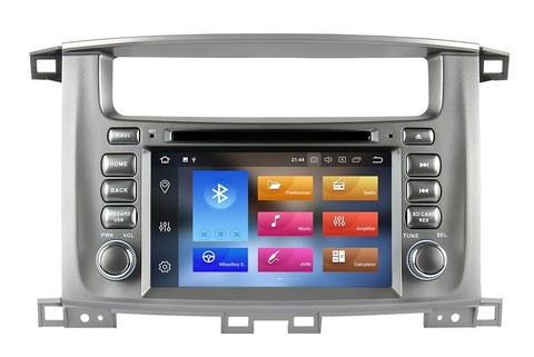 Магнитола Toyota Land Cruiser 100 2003-2007 Android 9.0 4/64GB IPS DSP модель CB7A112PX5