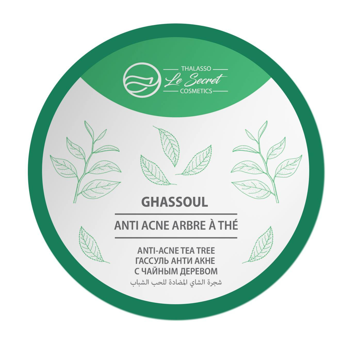 Гассуль против Акне с маслом чайного дерева Le Secret Thalasso