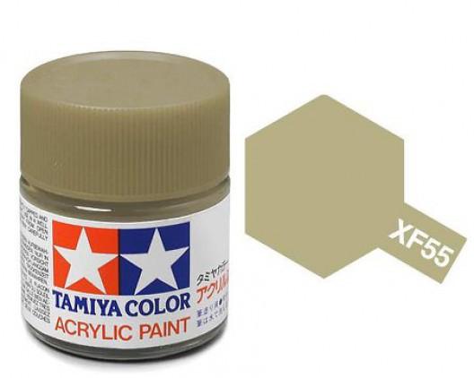 Tamiya Акрил XF-55 Краска Tamiya, Бежевый Матовый (Deck Tan), акрил 10мл import_files_02_02759cd55aac11e4bc9550465d8a474f_95b315585b6211e4b26b002643f9dbb0.jpg