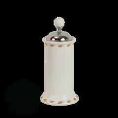 Контейнер для мусора настольный Migliore Provance ML.PRO-60.546 керамика с декором h27x12см.