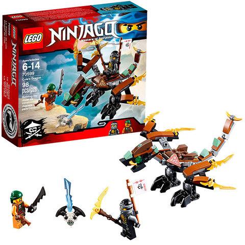 LEGO Ninjago: Дракон Коула 70599 — Cole's Dragon — Лего Ниндзяго