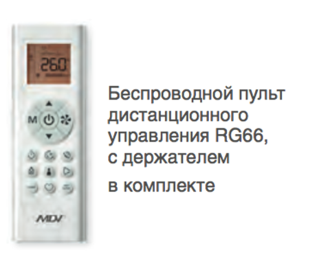 Сплит-система MDV MDSOP-12HRFN8 /  MDOOP-12HFN8