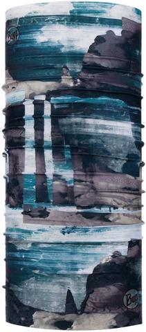 Бандана-труба летняя Buff CoolNet Harq Stone Blue фото 1